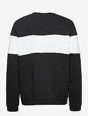 Reebok Performance - Training Essentials Linear Logo Crew Sweatshirt - sweaters - black - 2