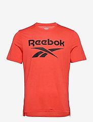 Reebok Performance - Workout Ready Supremium Graphic T-Shirt - t-shirts - dynred - 1