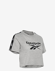 Reebok Performance - Training Essentials Tape Pack T-Shirt W - crop tops - mgreyh - 4