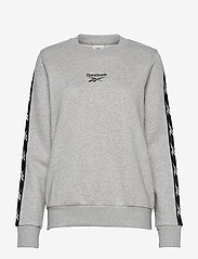 Reebok Performance - Training Essentials Crew Sweatshirt W - sweatshirts - mgreyh - 1