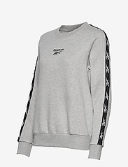 Reebok Performance - Training Essentials Crew Sweatshirt W - sweatshirts - mgreyh - 3