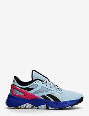 Reebok Performance - NANOFLEX TR - training schoenen - gabgry/cblack/purpnk - 1