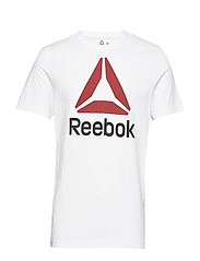 QQR- Reebok Stacked - WHITE/EXCRED