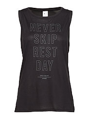TS GRAPHIC MUSCLE TANK - BLACK