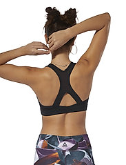 Reebok Performance - HERO RACER BRA PAD - sport bras: medium - black - 3