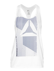 OST AC GRAPHIC TANK - WHITE