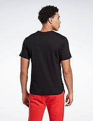 Reebok Performance - RI Big Logo Tee - t-shirts - black - 3