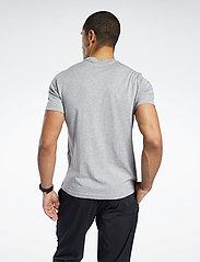 Reebok Performance - RI Big Logo Tee - t-shirts - mgreyh - 4