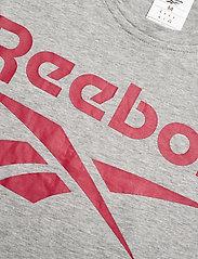 Reebok Performance - RI Big Logo Tee - t-shirts - mgreyh - 3