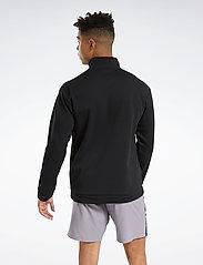 Reebok Performance - WOR DBLKNT QZ - sweaters - black - 3