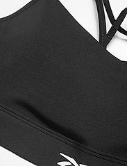Reebok Performance - Lux Strappy Medium-Impact Sports Bra W - sport bras: medium - black - 4
