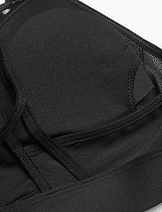 Reebok Performance - Lux Strappy Medium-Impact Sports Bra W - sport bras: medium - black - 5