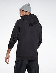 Reebok Performance - Identity Hoodie - hoodies - black - 3