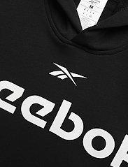 Reebok Performance - Training Essentials Linear Logo Hoodie - hoodies - black - 5