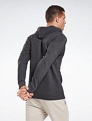 Reebok Performance - Training Essentials Mélange Hoodie - hoodies - black - 5