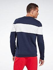 Reebok Performance - Training Essentials Linear Logo Crew Sweatshirt - sweaters - vecnav - 4