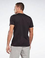 Reebok Performance - RI CLASSIC TEE - t-shirts - black - 4