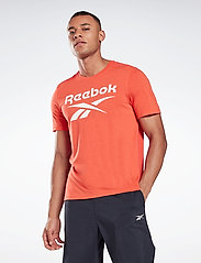 Reebok Performance - Workout Ready Supremium Graphic T-Shirt - t-shirts - dynred - 0