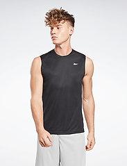 Reebok Performance - Workout Ready Sleeveless Tech T-Shirt - tank tops - black - 0