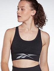 Reebok Performance - Workout Ready Seamless Sports Bra W - sport bras: low support - black - 0