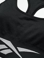 Reebok Performance - Workout Ready Seamless Sports Bra W - sportbeh''s: low - black - 4
