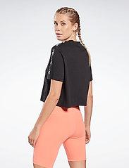 Reebok Performance - Training Essentials Tape Pack T-Shirt W - navel shirts - black - 5