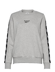 Training Essentials Crew Sweatshirt W - MGREYH