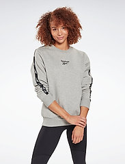 Reebok Performance - Training Essentials Crew Sweatshirt W - sweatshirts - mgreyh - 0