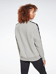 Reebok Performance - Training Essentials Crew Sweatshirt W - sweatshirts - mgreyh - 4