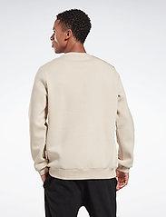 Reebok Performance - RI Fleece Crew - sweaters - stucco - 3