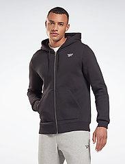 Reebok Performance - RI Fleece FZ HOODIE - hoodies - black - 0