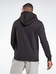 Reebok Performance - RI Fleece FZ HOODIE - hoodies - black - 3