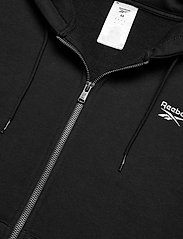 Reebok Performance - RI Fleece FZ HOODIE - hoodies - black - 4