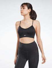 Reebok Performance - WOR Tri Back Bra- Pad - sport bras: medium support - nghblk - 0