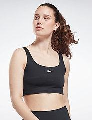 Reebok Performance - WOR Rib Bralette - soft bras - black - 0