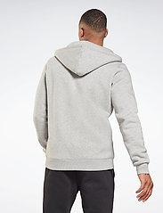 Reebok Performance - RI Fleece FZ HOODIE - hoodies - mgreyh - 3