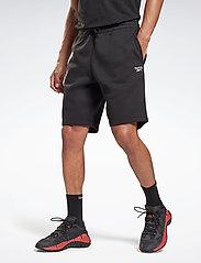 Reebok Performance - RI Fleece SHORT - casual shorts - black - 0