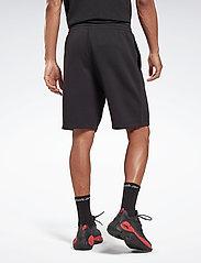 Reebok Performance - RI Fleece SHORT - casual shorts - black - 3