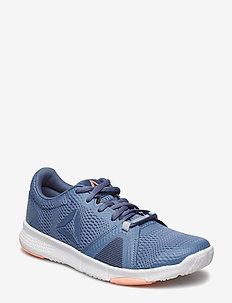 REEBOK FLEXILE - training shoes - blue/grey/pink/white
