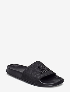 RBK FULGERE SLIDE - pool sliders - black/cold grey