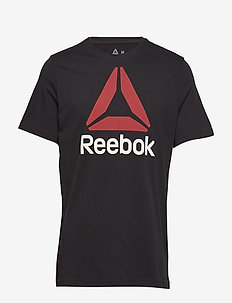 QQR- Reebok Stacked - BLACK/EXCRED