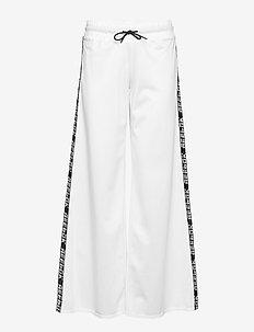 WOR MYT KNIT WIDE LEG ANT - sports pants - white