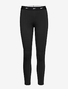 SH HighRise Mesh Tight - löpnings- och träningstights - black