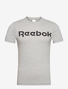 GS Reebok Linear Read Tee - t-shirts - mgreyh
