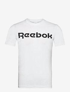 GS Reebok Linear Read Tee - t-shirts - white