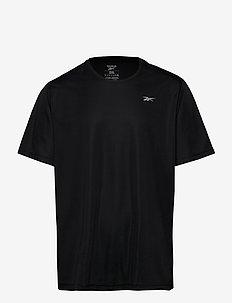 RE BASIC SS TEE - sportstopper - black