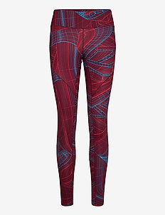 TS LUX PRFRM TIGHT-TECHTW - løpe- og treningstights - maroon