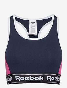 TE Linear Logo Bralette - sort bras:high - vecnav
