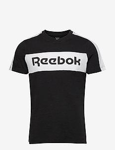 Training Essentials Linear Logo Graphic T-Shirt - t-shirts - black