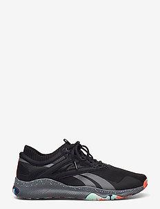 Reebok HIIT TR - training schoenen - cblack/trugr7/ornflr